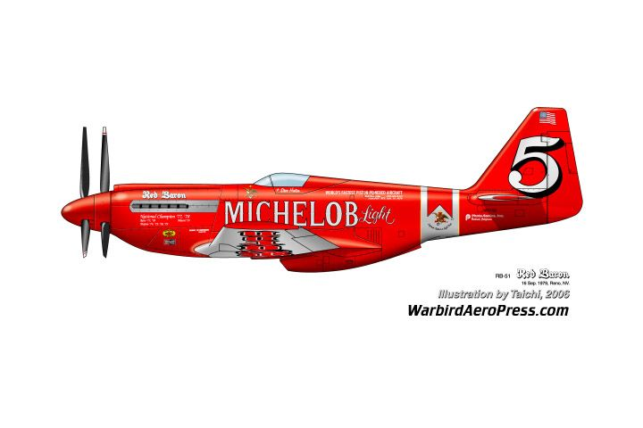 Modified P-51 and beer - what a wonderful corporate partnership - although - I would recommend the beer AFTER the flight...