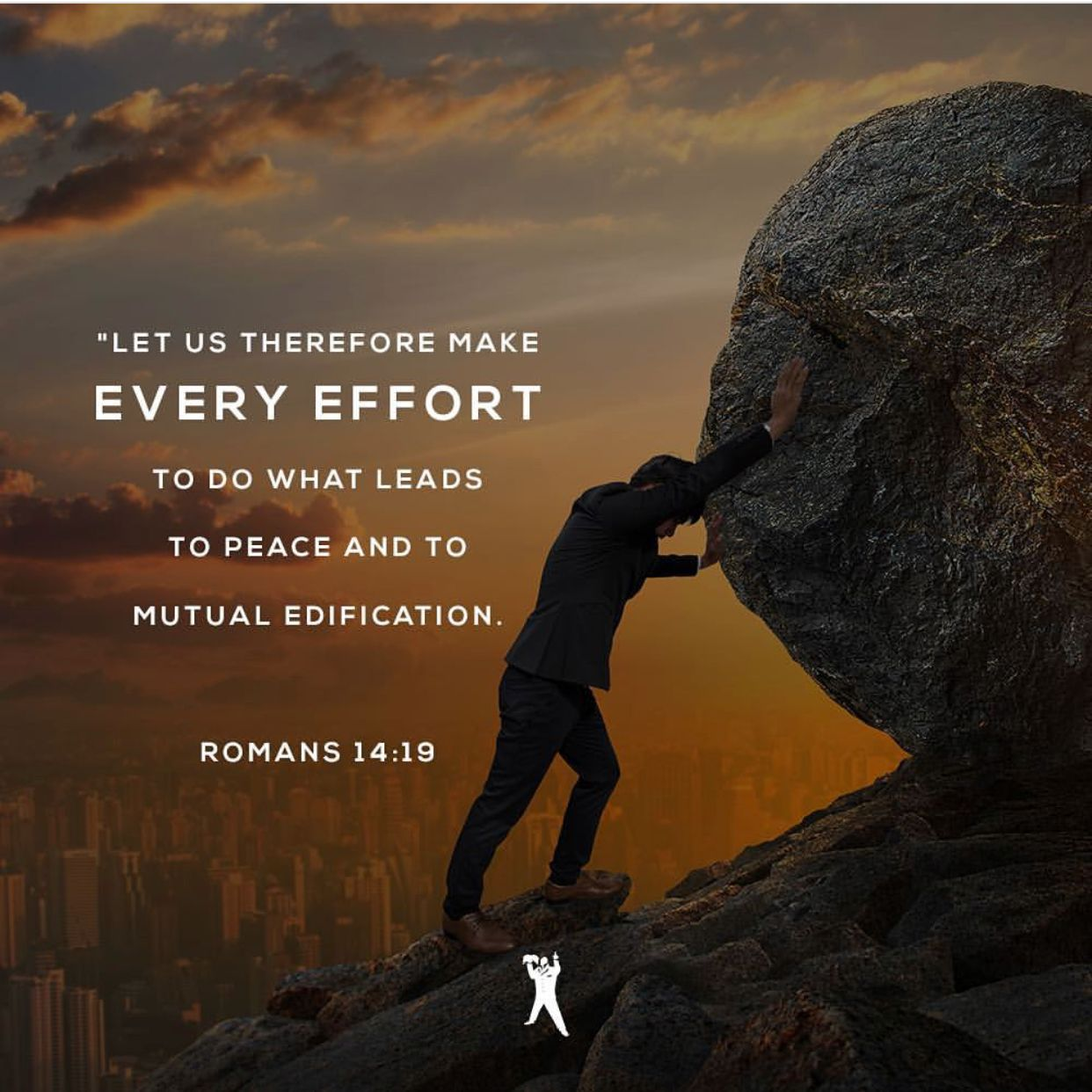 Pin by Emily Blessing on God Romans, Let it be, Peace