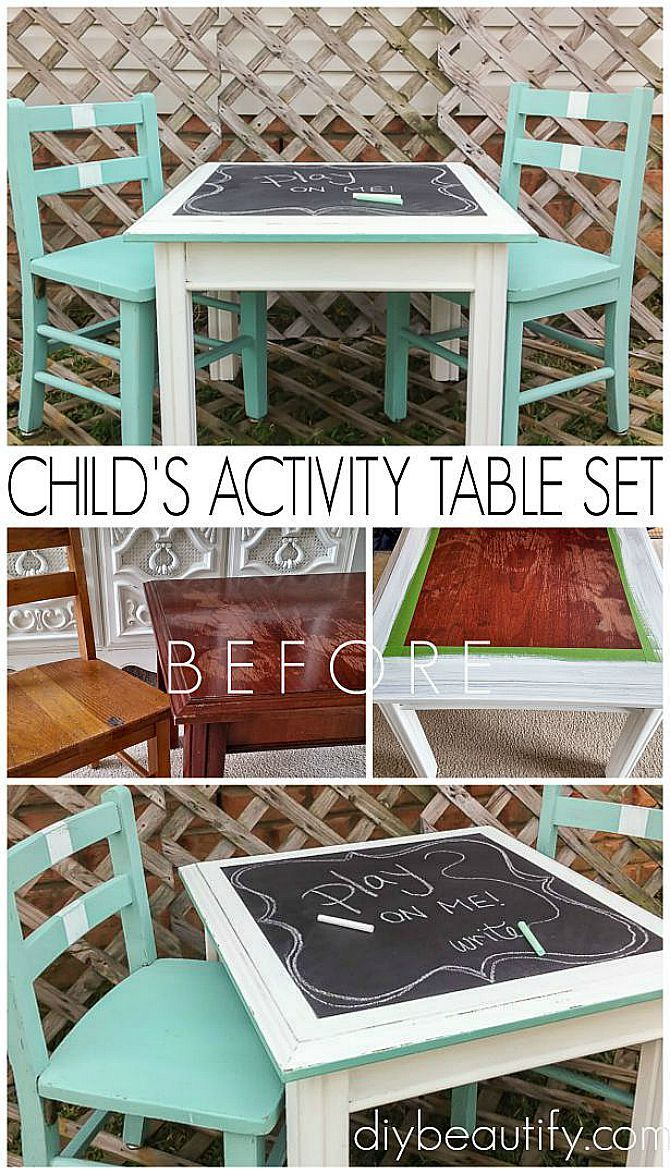 Create an Activity Table Set for Kids with Mismatched