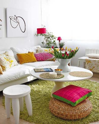 Princípios do Design de Interiores. Eu quero essa sala linda
