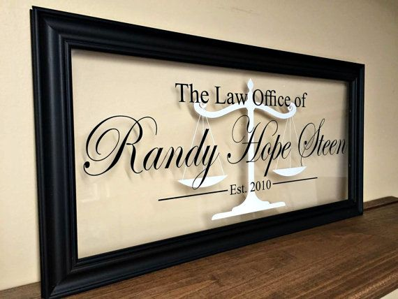 Gifts For Attorneys, Lawyer Gift, Law Office Decor, Gifts For Lawyers,  Attorney Gift, Commercial Bus