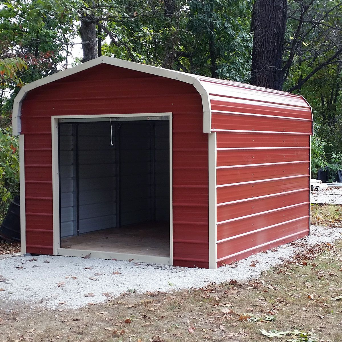 Duramax 10x12 Del Mar Colossus Metal Shed Foundation Brown Trim Duramax Sheds Shed Small Shed Plans