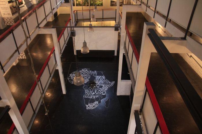 Afrique architecture exposition noir évolution projet