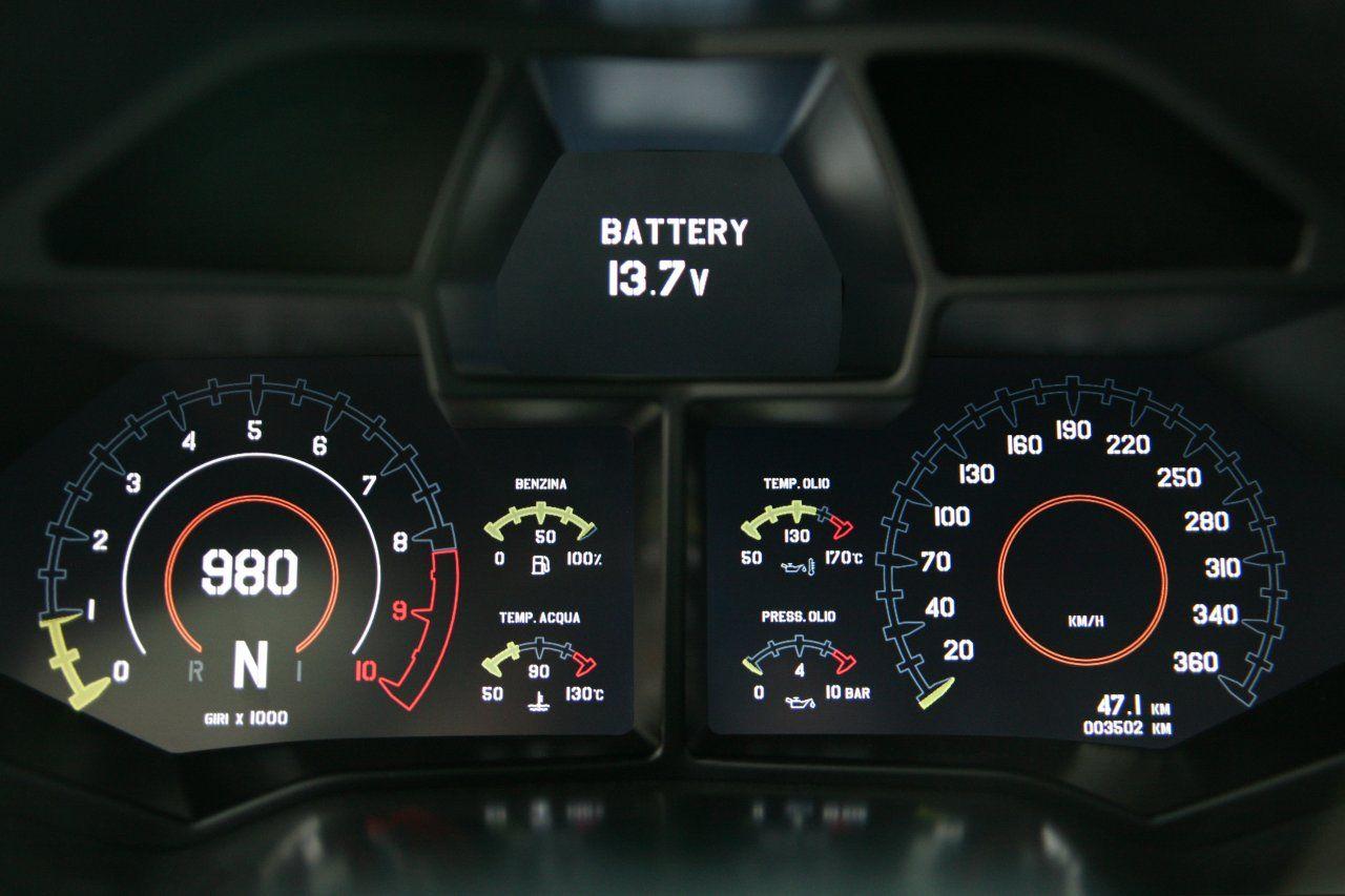 Lamborghini Reventon Basic Theme Car Dashboards Dashboard Ui