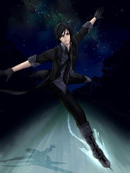 Sebastian in the ice