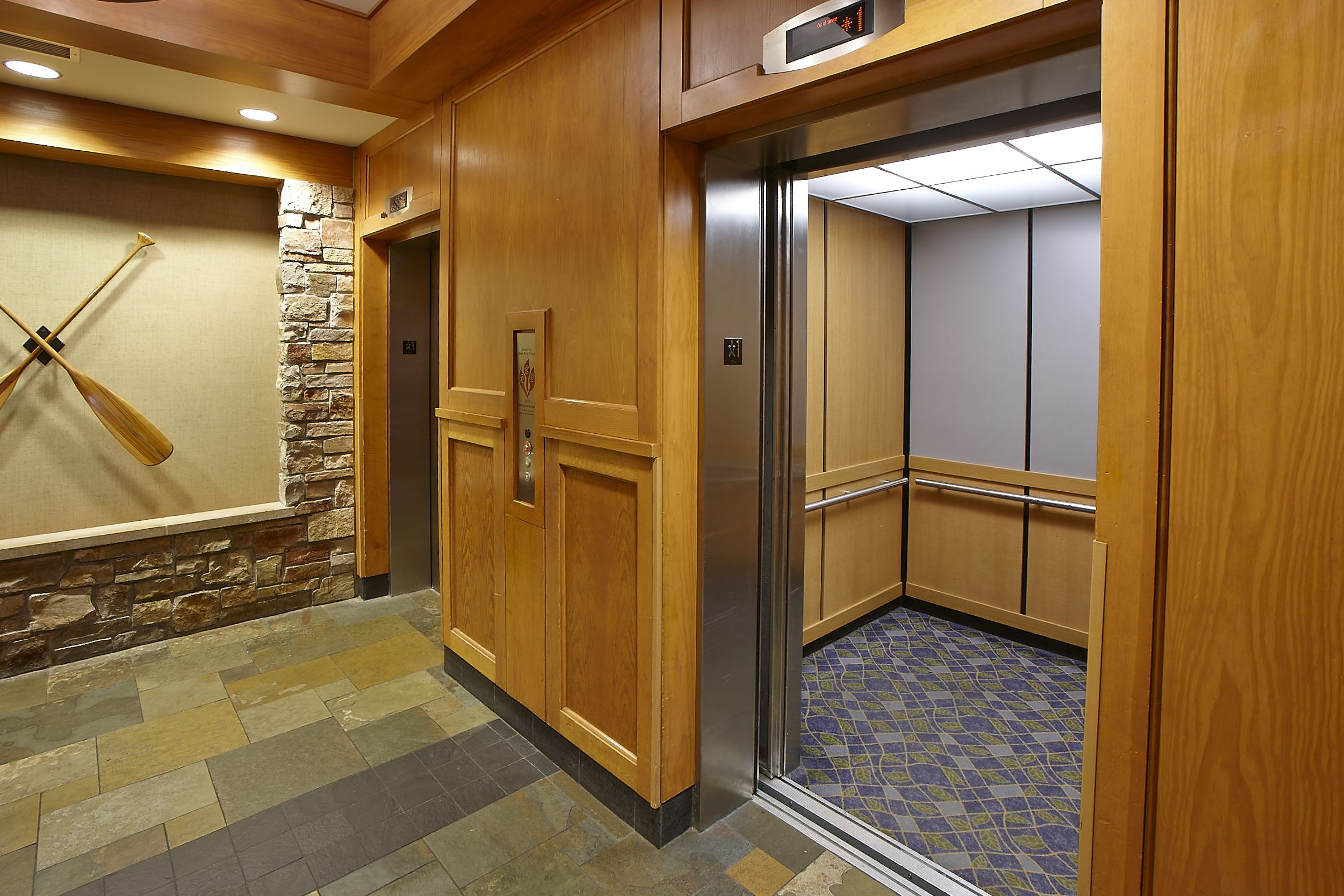 Radisson Hotel Bloomington Mn Elevator Interior Hospitality
