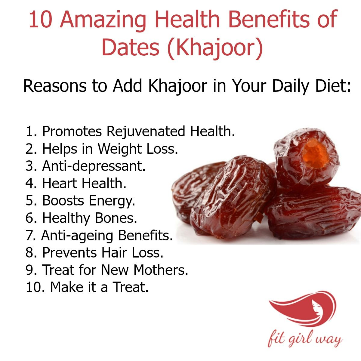 Weight loss benefits of dates