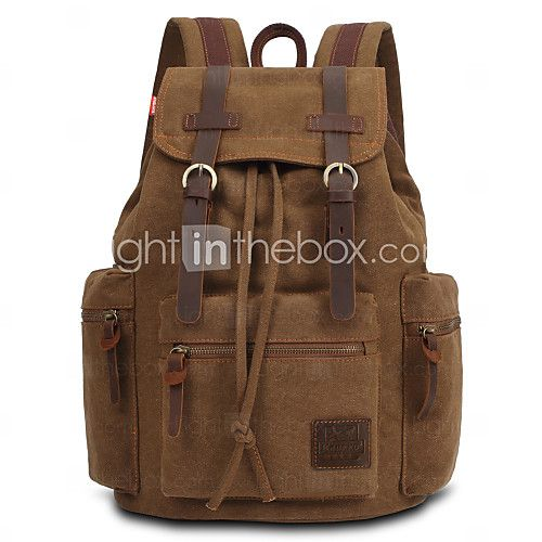 d766897079 Male bag men s canvas backpack men s laptop notebook military space icons  on the backpack knapsack school bags sac