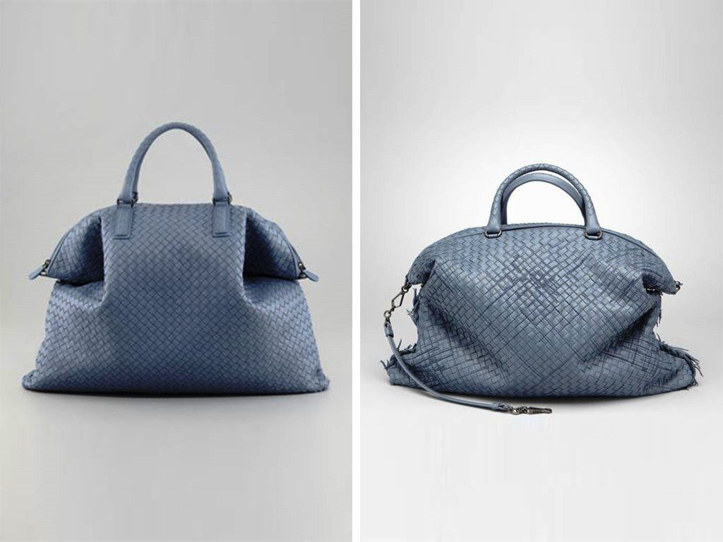 Bottega Veneta Blue Convertible Bag 2013  db12ea285aceb