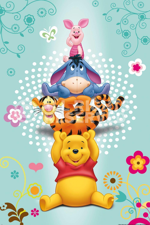Poster Disney Pooh Online Te Koop Bestel Je Poster Je 3d Filmposter Of Soortgelijk Product Maxi Poster Winnie De Pooh Pooh Beer Eeyore
