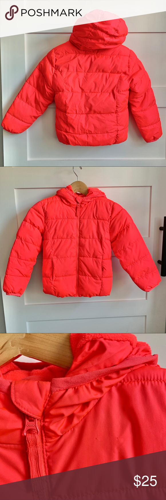 Old Navy Neon Pink Puffer Frost Free Sz S 6 7 Pink Puffer Jacket Neon Pink Old Navy [ 1740 x 580 Pixel ]