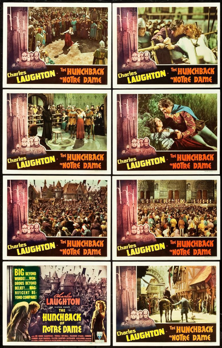 The Hunchback of Notre Dame - Lobby Cards