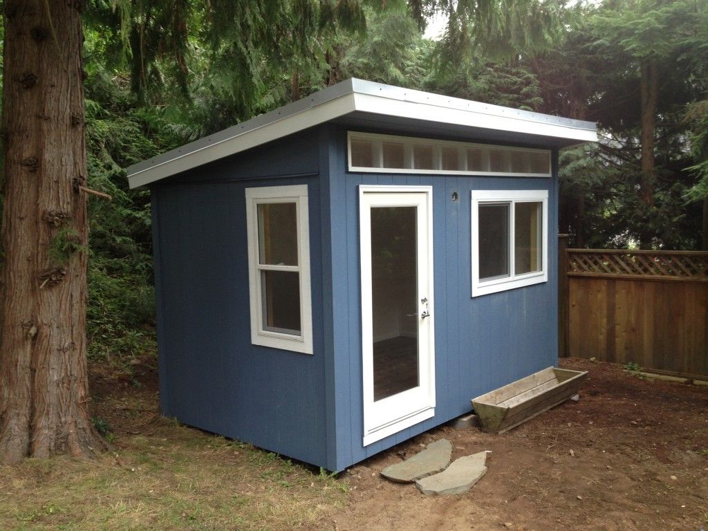 8 x 13 North Vancouver Backyard Office by Westcoast Outbuildings