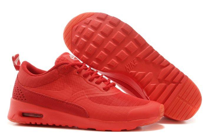 Billig Hot Nike Air Max Thea Print Kvinne Sko Red Salg Online Best ...