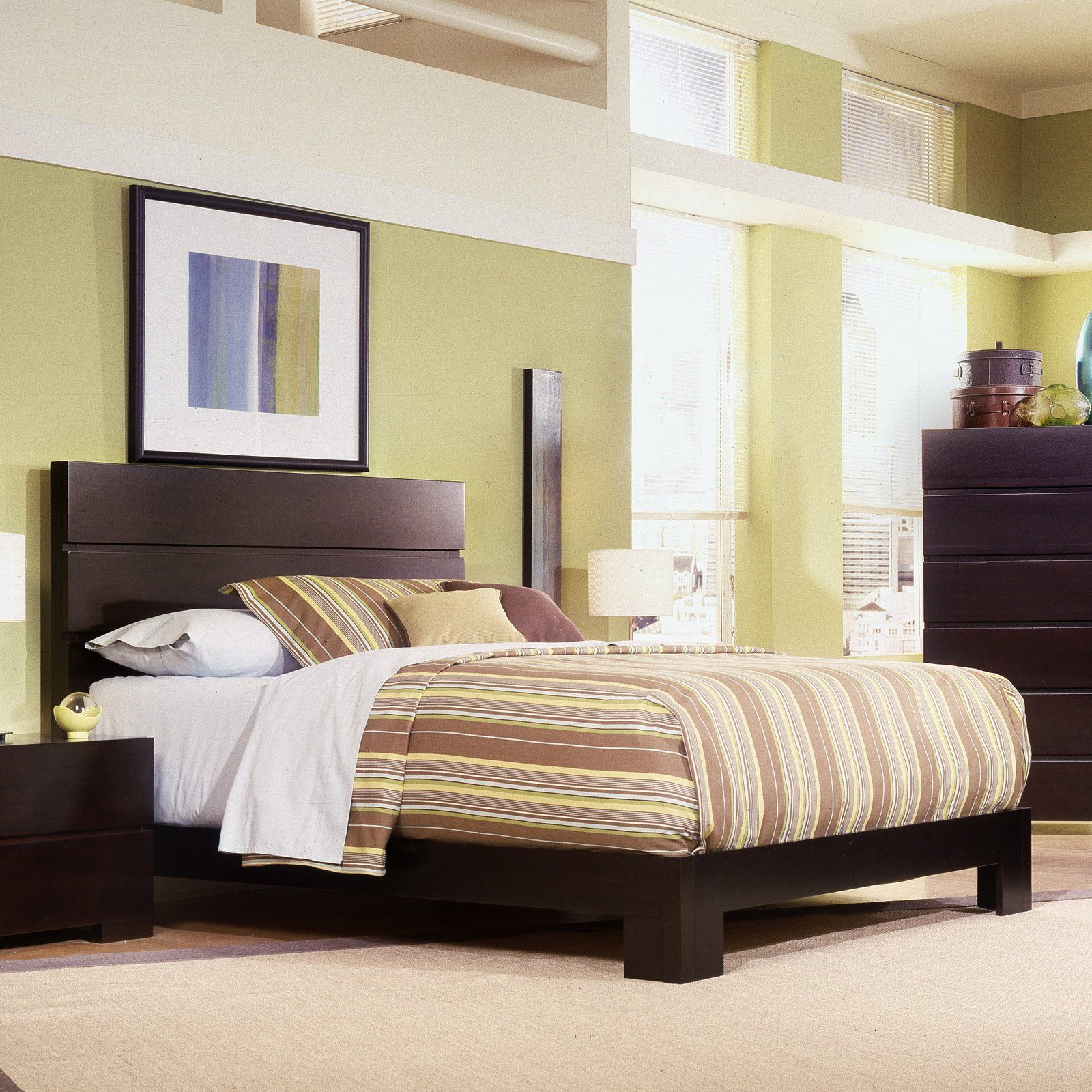 Have to have it. Carmel Platform Bed Set - $559.99 @hayneedle | Wish ...