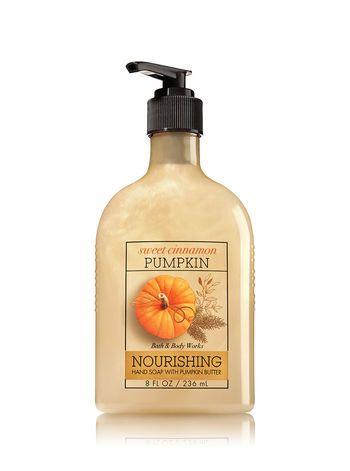 Sweet Cinnamon Pumpkin Hand Soap With Pumpkin Butter Bath And