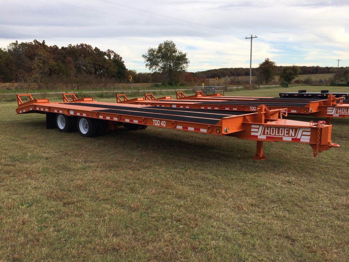 HOLDEN TDO40 Equipment Trailers.