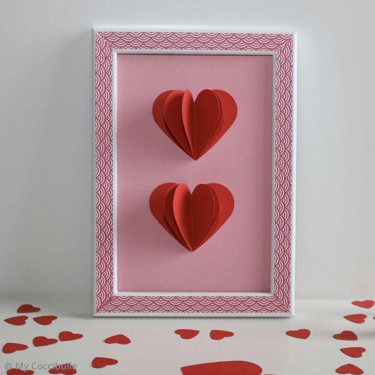 Diy Saint Valentin Le Cadre Origami Coeur Idees Conseils Et