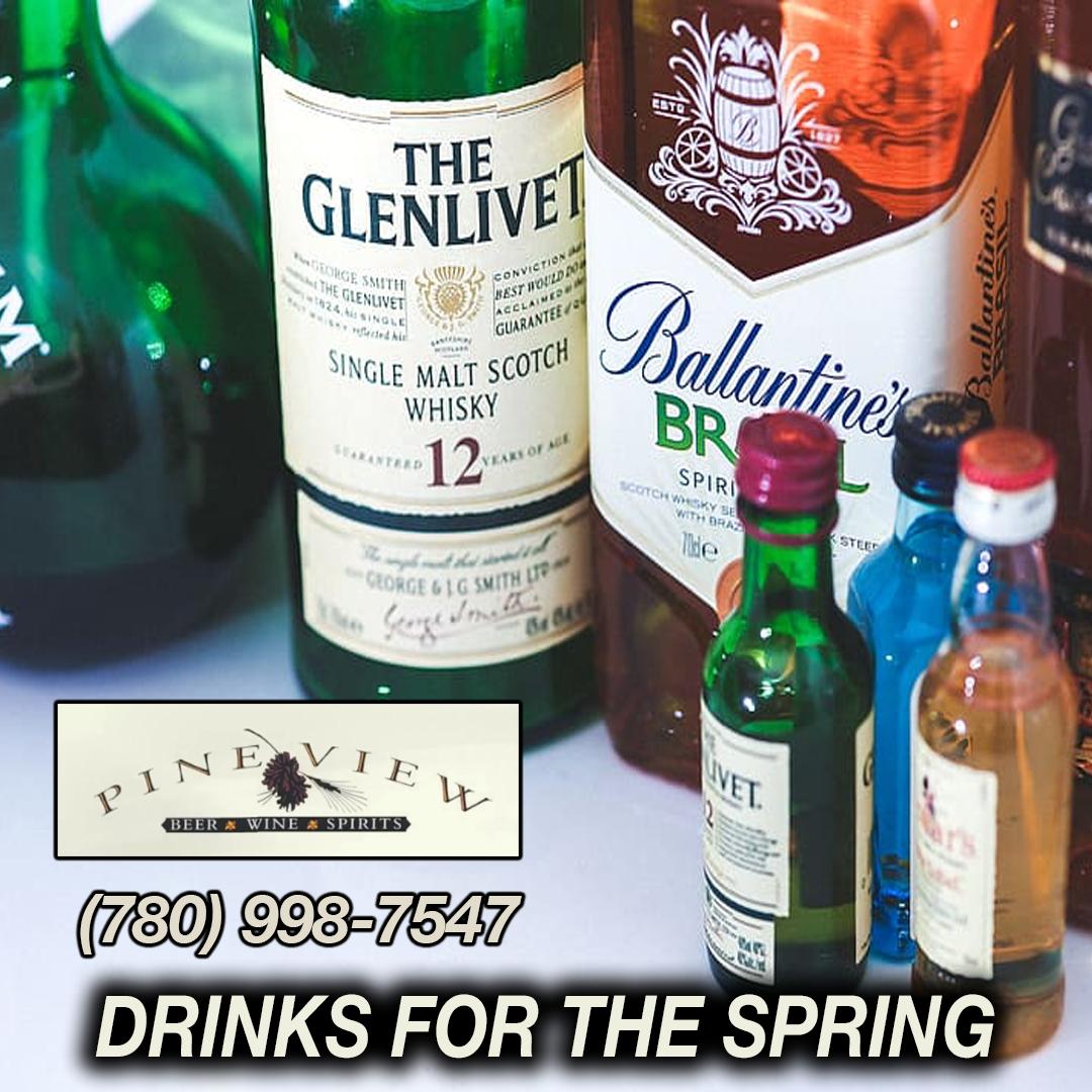 Pineview Liquor Ft Sask Ab Liquor Store Liquor Soju Bottle