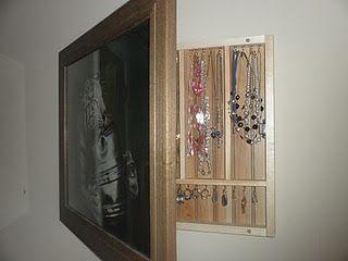 Diy Photo Frame Turned Into Hidden Jewelry Box Jewelry Box