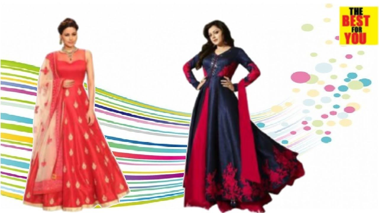 729a5566352f Latest indian party wear dresses for women anarkali in Flipkart and ...