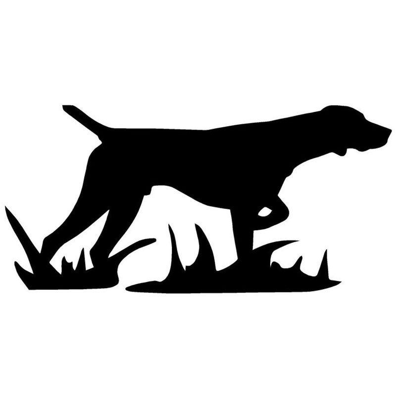 HotMeiNi Car Sticker CM Hunting Dog Car Window Body Oem - Sporting dog decals