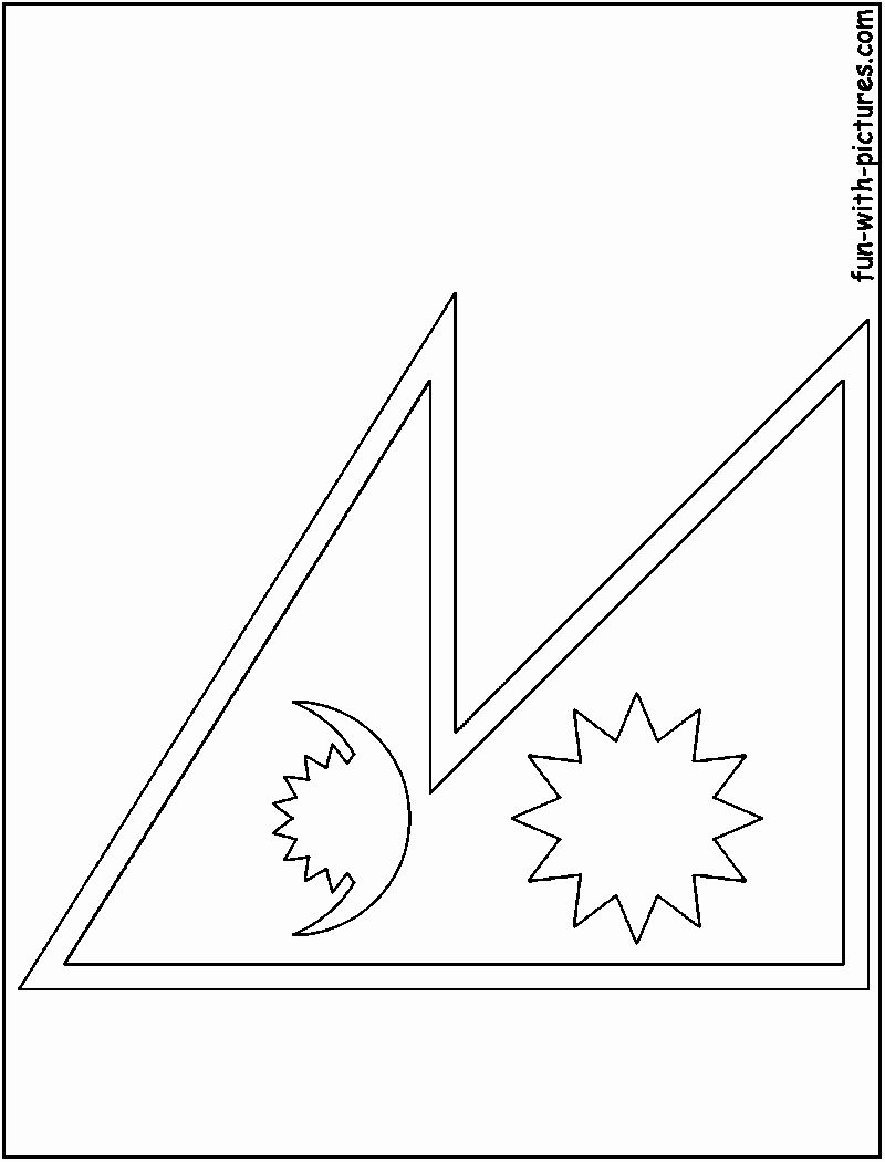 Nepal Flag Coloring Page In 2020 Flag Coloring Pages Nepal Flag