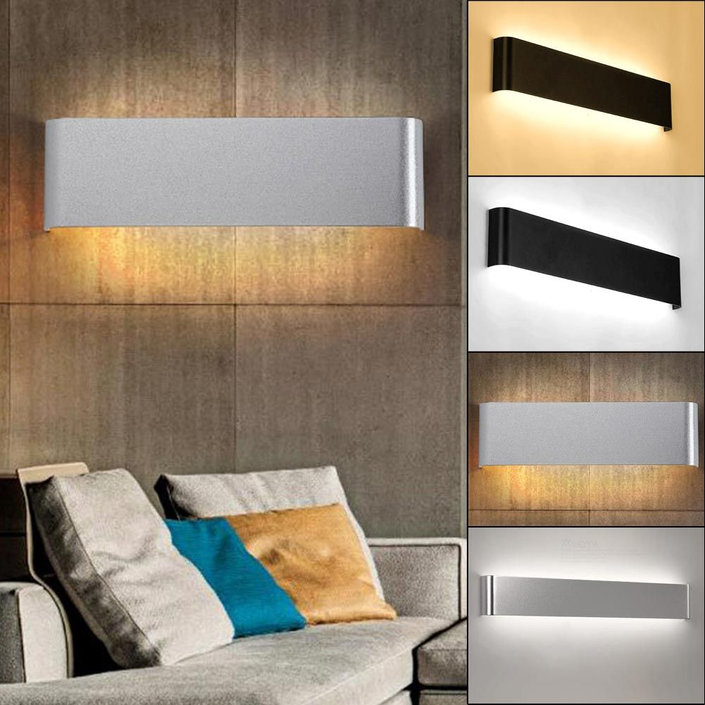 Led aluminum wall lamp bathroom mirror front lamps bedside lamp