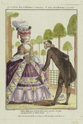 Gallerie des Modes et Costumes Français. 9e. Cahier des