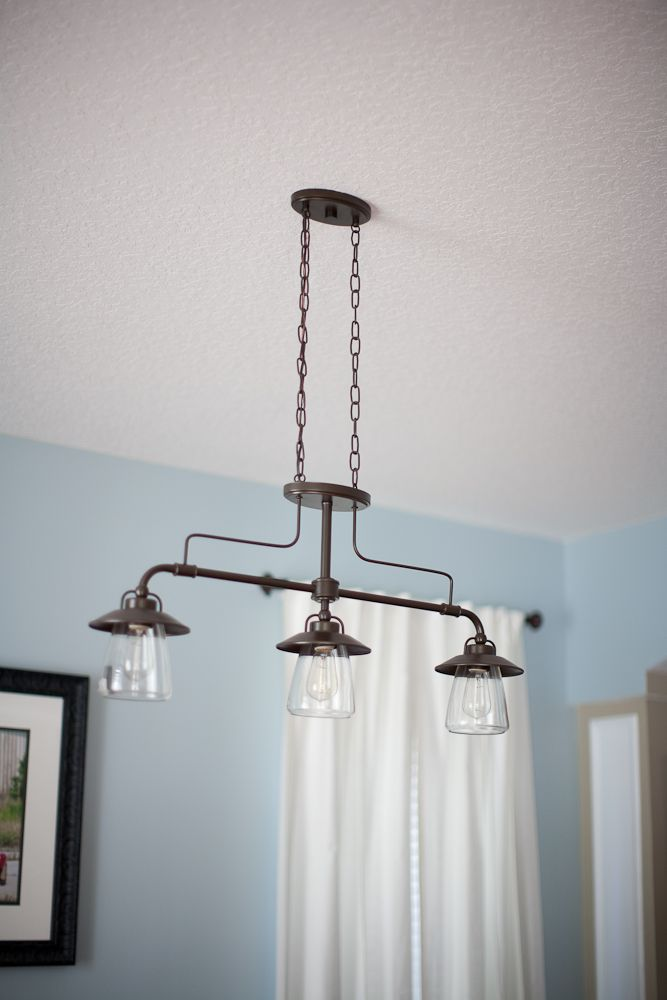 dining room light fixtures lowes   Lowe's Allen + Roth Lighting really like this for the ...