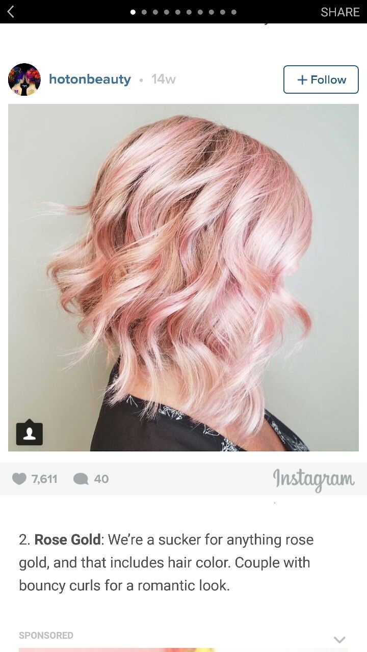 Rose gold hair hair ideas pinterest rose gold hair gold hair