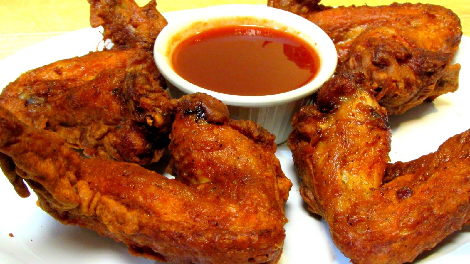 Chinese chicken wings with mumbo sauce chinese food