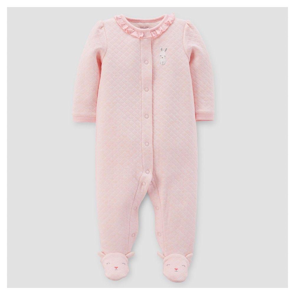 7c84fa6c790b Baby Girls  Bunny Ruffle Sleep N  Play - Just One You Made by ...