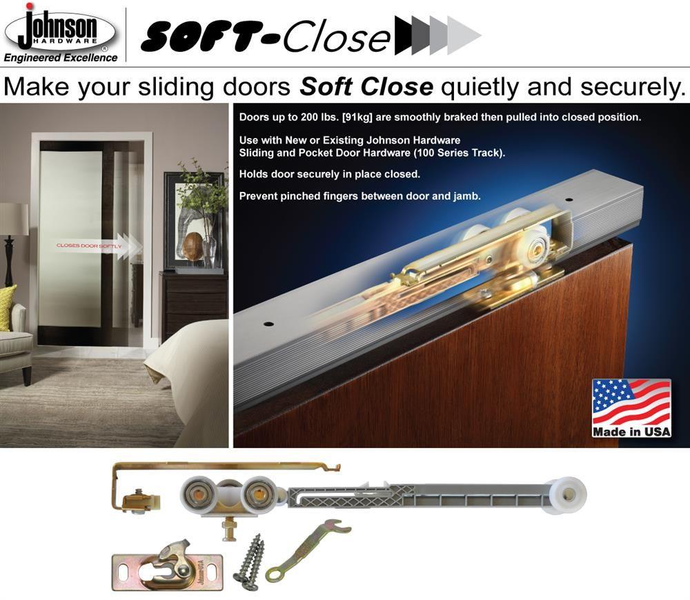 1060 Soft Close Kit Jhusa Net Sliding Folding Pocket Door Hardware In 2020 Pocket Door Hardware Pocket Doors Pocket Door Frame