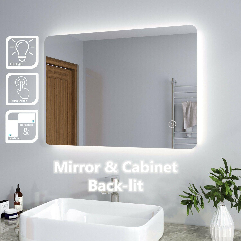 Illuminated Bathroom Mirror Cabinet Modern Bathroom Mirrors Bathroom Mirror Cabinet Led Mirror Bathroom [ 1500 x 1500 Pixel ]
