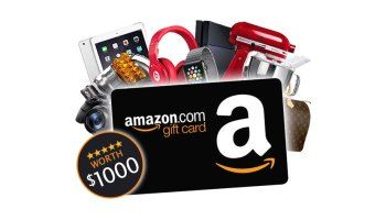 Photo of Win a $1,000 Amazon Gift Card
