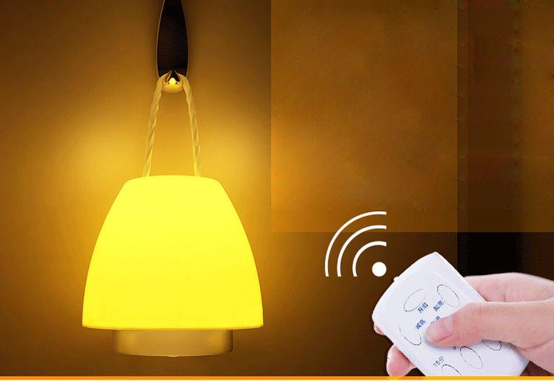 New Style Mushroom Portable Night Light Remote Control Dimming
