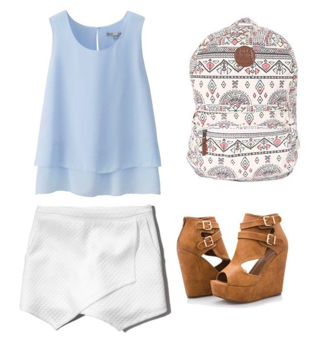 """My First Polyvore Outfit"" by juniorbaker1997 ❤ liked on Polyvore featuring Uniqlo, Abercrombie & Fitch, Billabong and Ashley Stewart"