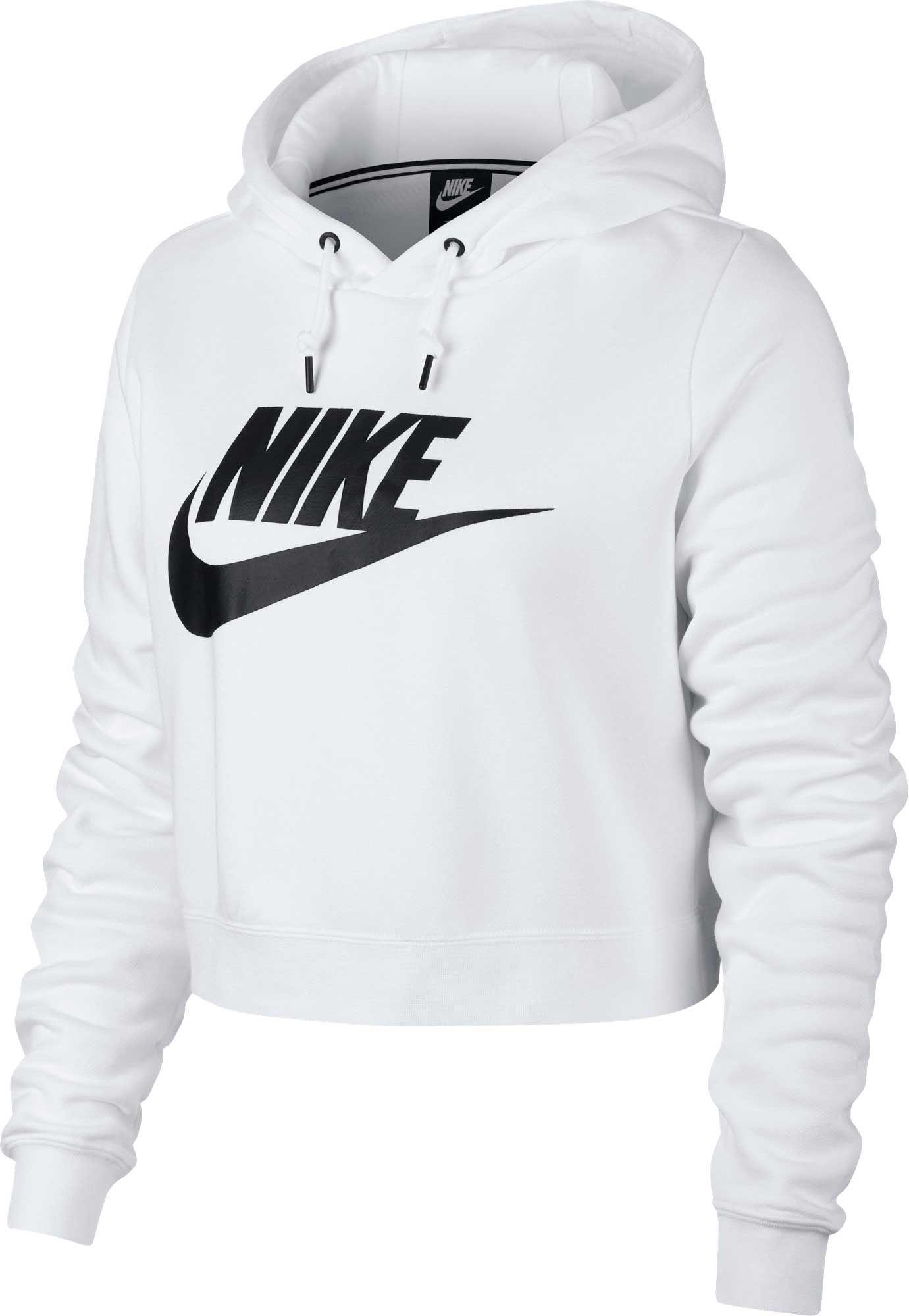 9fc86e803314 Nike Women s Sportswear Rally Cropped Hoodie