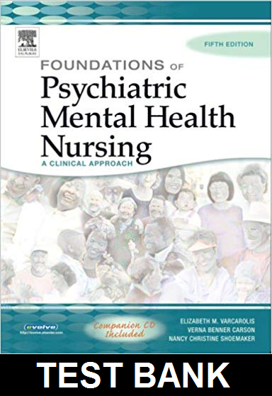 Foundations Of Psychiatric Mental Health Nursing 5th Edition
