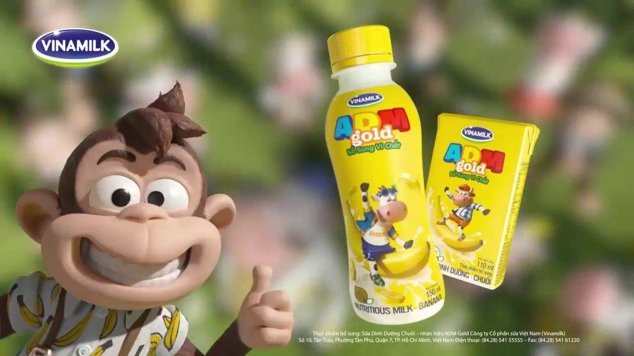 sữa adm chuối