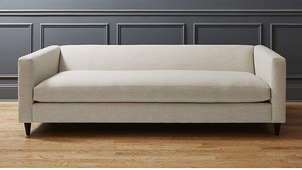 Super Movie Birch Sofa Cb2 Grey Salt And Pepper Fabric Super Pdpeps Interior Chair Design Pdpepsorg