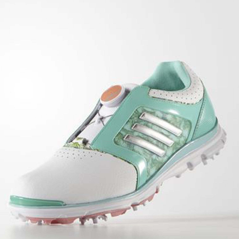 adidas W adistar Tour BOA Lady Türkis Golfschuhe Damen ...