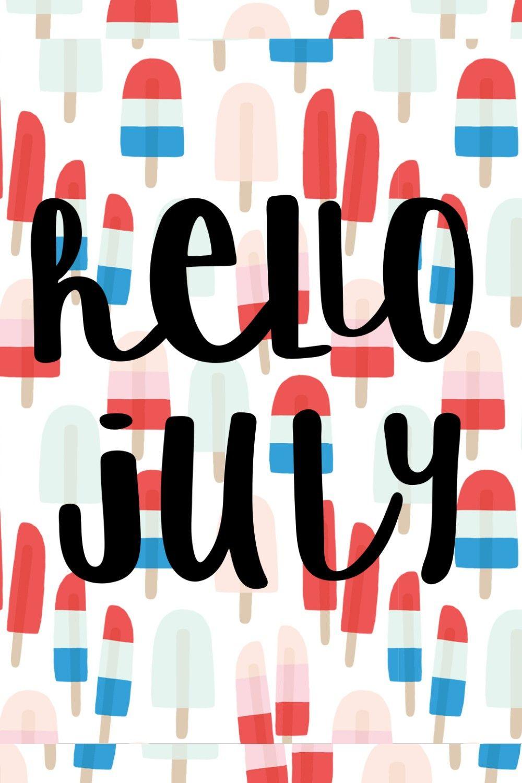 Hello July Wallpaper July Wallpaper July Wallpapers Hello July Wallpapers Cute hello july wallpapers