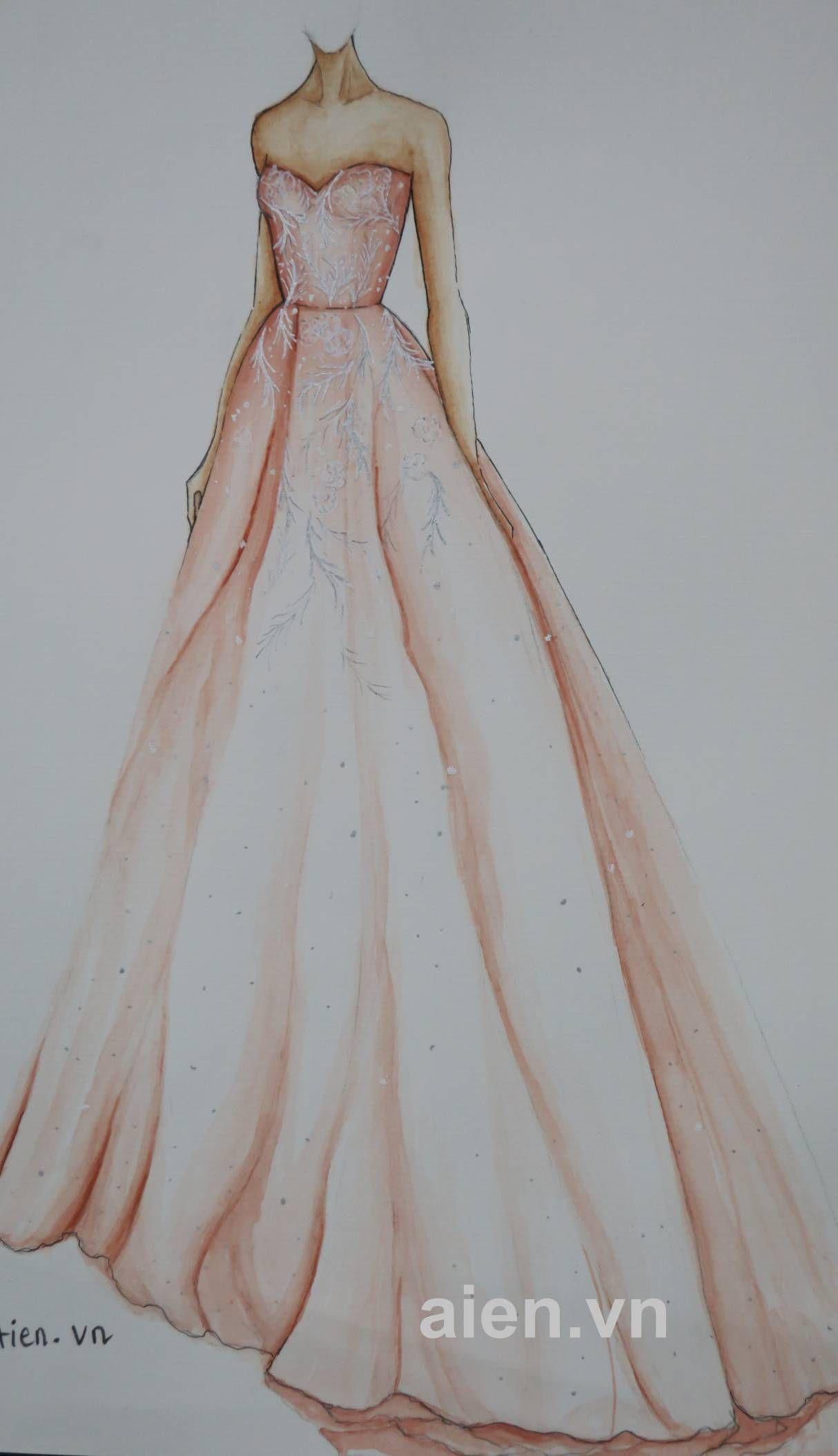 Mẫu phác thảo a cute dresses pinterest fashion illustrations