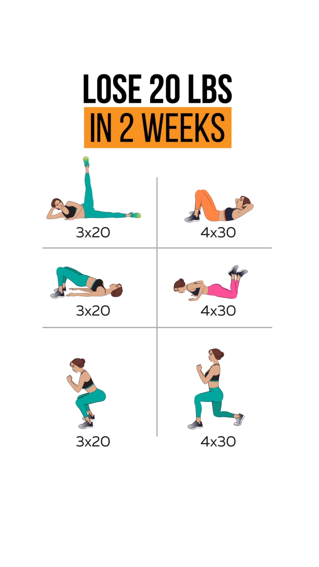 Have Slimmer Body with 14-Day Challenge