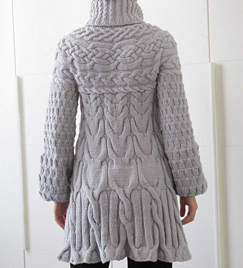 Knitting Pattern: Minimissimi Sweater Coat pattern PDF by MinimiKnitDesign on Etsy https://www.etsy.com/listing/150795506/knitting-pattern-minimissimi-sweater