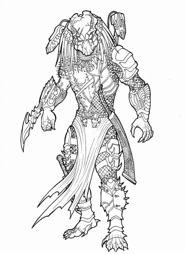 Good Elder By Bender 18 By Ronniesolano On Deviantart Predator Art Predator Artwork Predator