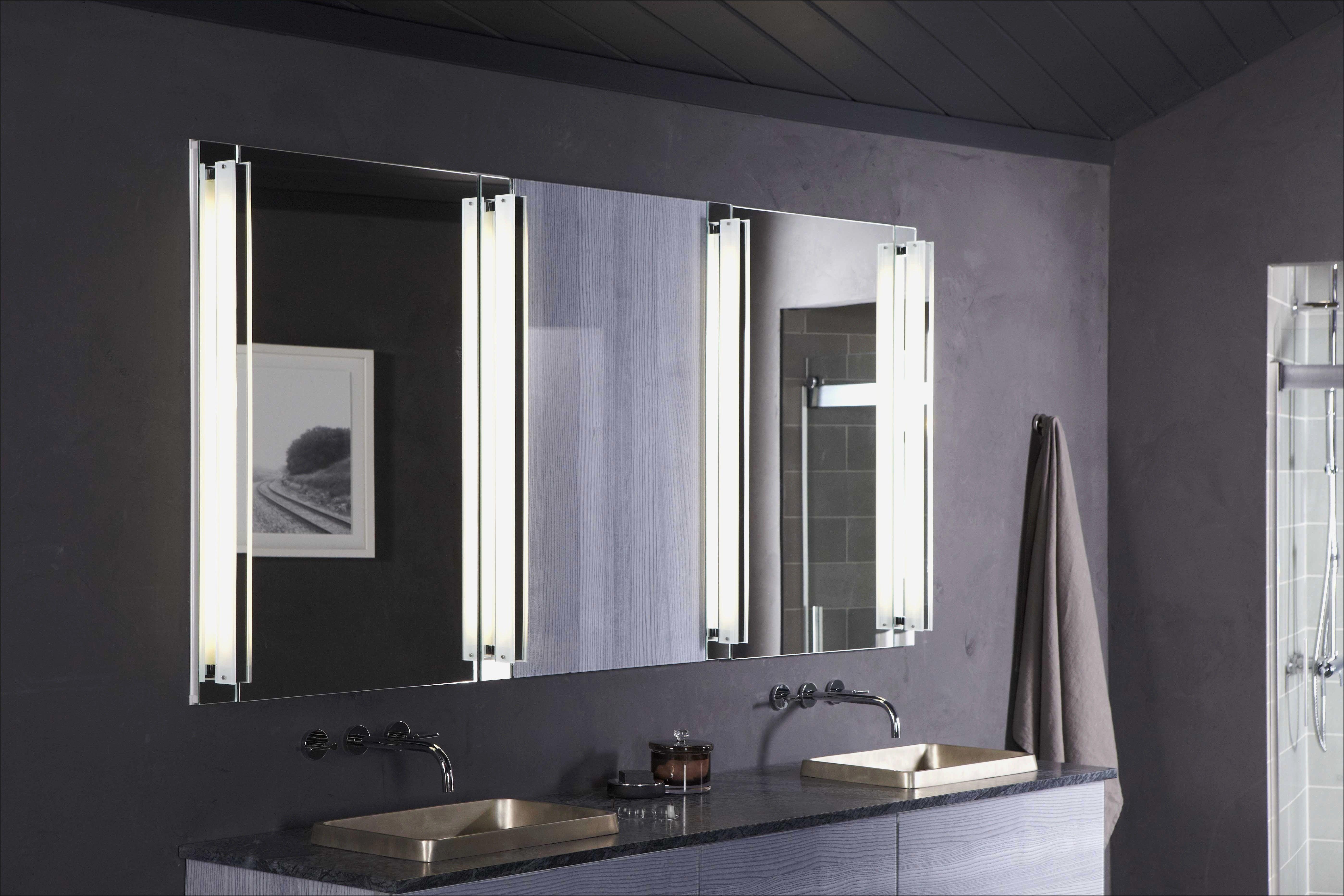 Bathroom Vanity With Medicine Cabinet Kohler Verdera Lighted Pertaining To Cabinets Ideas 5