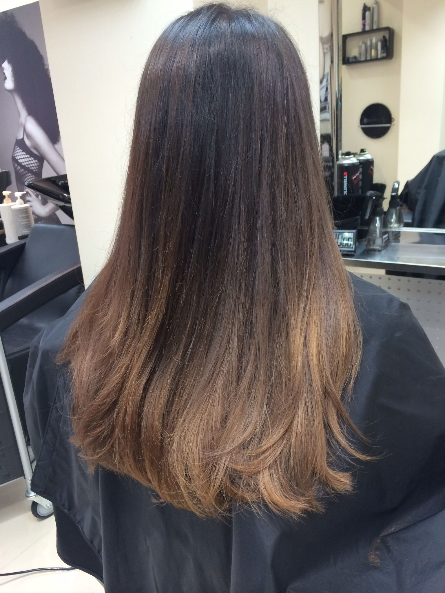 Ombre Look Dark Brown Hair With Caramel Ombré Look So Natural Quotes And